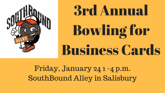 Third Annual Bowling for Business Cards